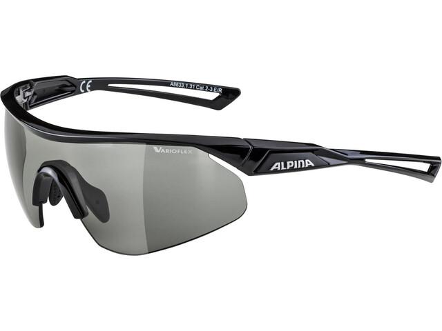 Alpina Nylos Shield VL Occhiali, black